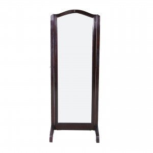 Beveled Mirror in Rosewood frame - LK CA035