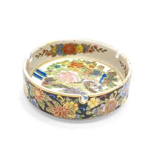 Chinese Oriental Design Round Astray Flower & Bird Design Big - CHRDASHTR-003