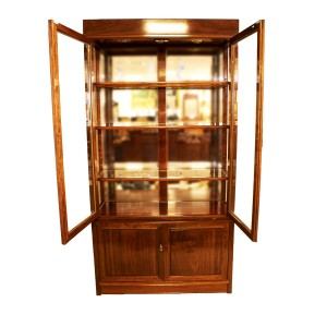 Rosewood Display Cabinet with Natural Finish - LK40X40X78BC