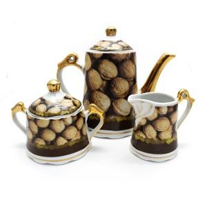 Ceramic Traditional Tea Serving Set 15 Pc Set - LKJT-TS08