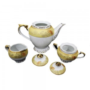 Ceramic Traditional Tea Serving Set 15 Pc Set - LKJT-TS01